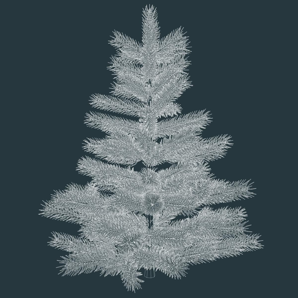 Fir Tree 3d Model Ad Fir Tree Model Fir Tree Tree 3d Model
