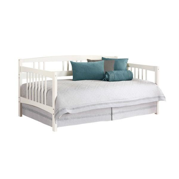 This Twin Size Traditional Pine Wood Day Bed Frame In