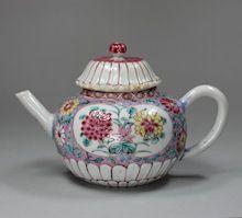 Chinese Famille-Rose Tea Wares