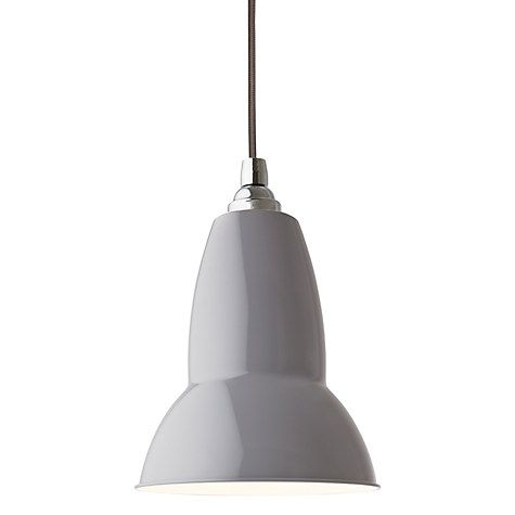 Anglepoise Original Pendant Light Dove Anglepoise Pendant - Kitchen pendant lighting john lewis