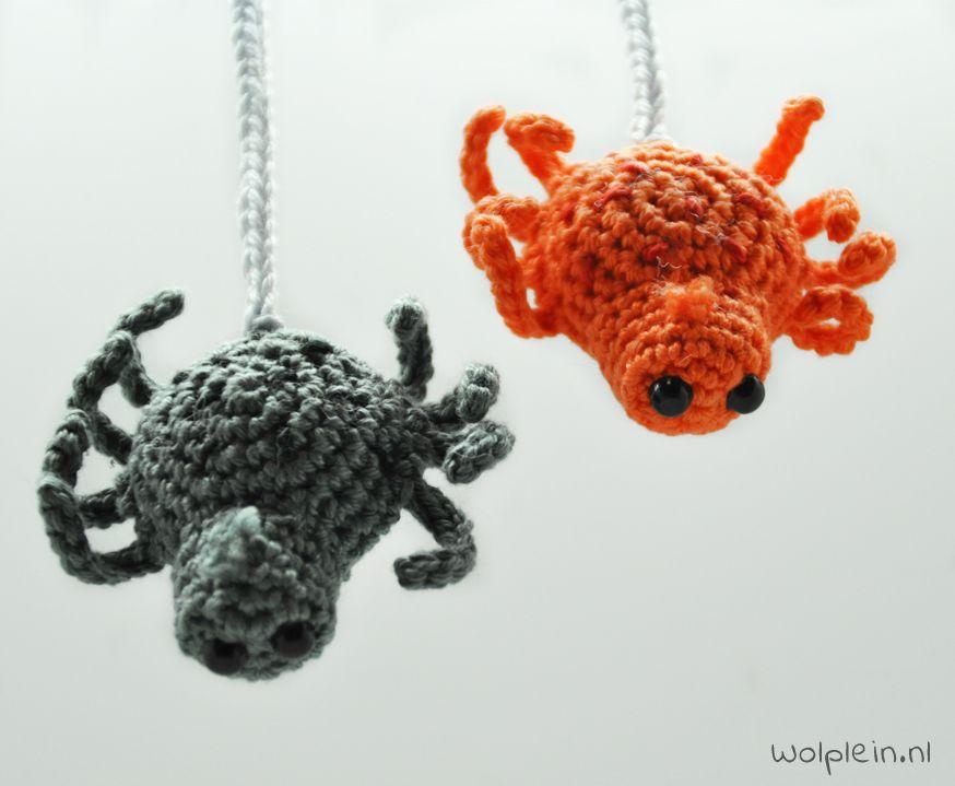 Spin haken voor Halloween; gruweleuk! | Amigurumi, Crochet and ...
