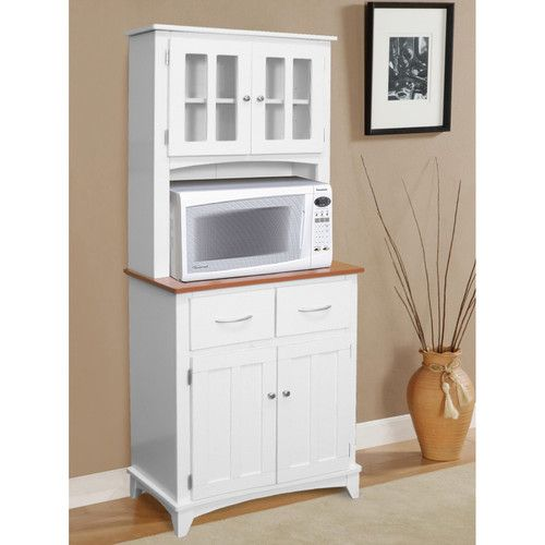 Hazelwood Home Brook Microwave Cart