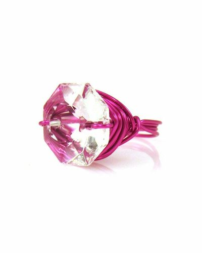 Gloria Zsa Zsa Bling Ring Fuchsia