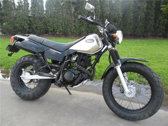 2000 Yamaha Tw200 Road Legal Big Wheel 4 995 00 Yamaha Tw200 Yamaha Motocross Tw200