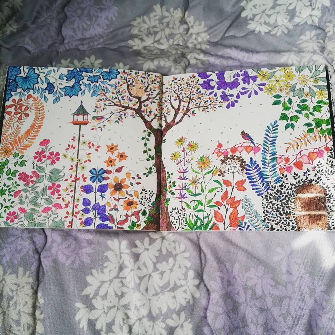 The Secret Garden Colouring Book This Is Pages 1 And 2 GardenParadise