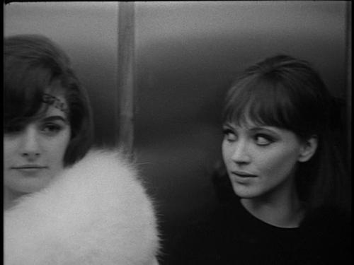 Alphaville (1965) #annakarina #godard #frenchcool