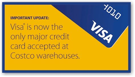 Daily Cheapskate Costco no longer accepts American Express; they - credit card form