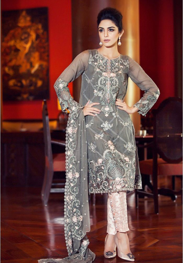 Latest designs of pakistani dresses for eid 2016 2017 Pakistani fashion designers