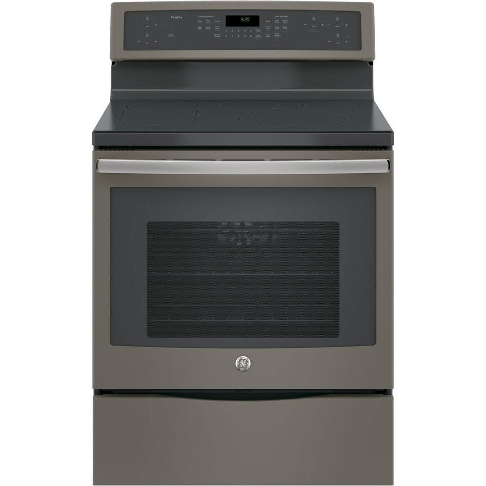 Ge Profile 5 3 Cu Ft Smart Induction Range With Self Cleaning