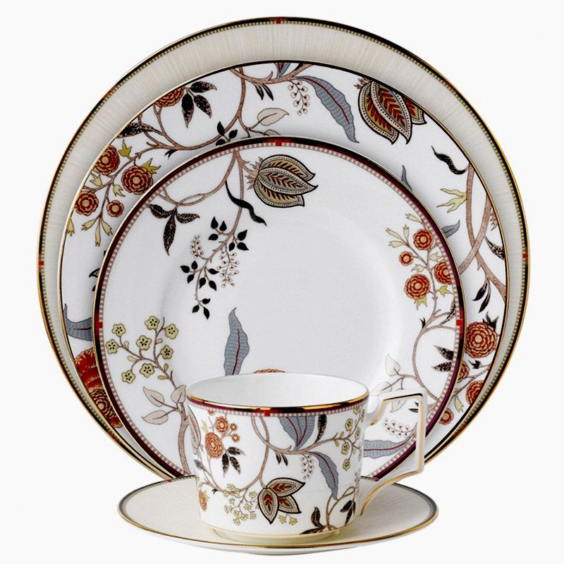 Luxury Bone China Dinner Set For 1 Person High Quality Ceramic Dinnerware Sets With Cup And  sc 1 st  Pinterest & Luxury Bone China Dinner Set For 1 Person High Quality Ceramic ...