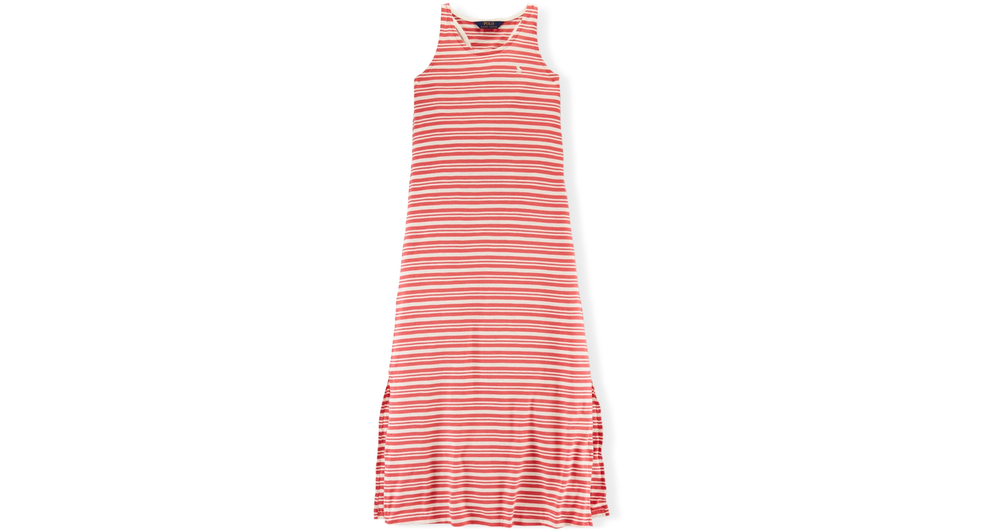 Ralph lauren girlsu stripe maxi dress products pinterest