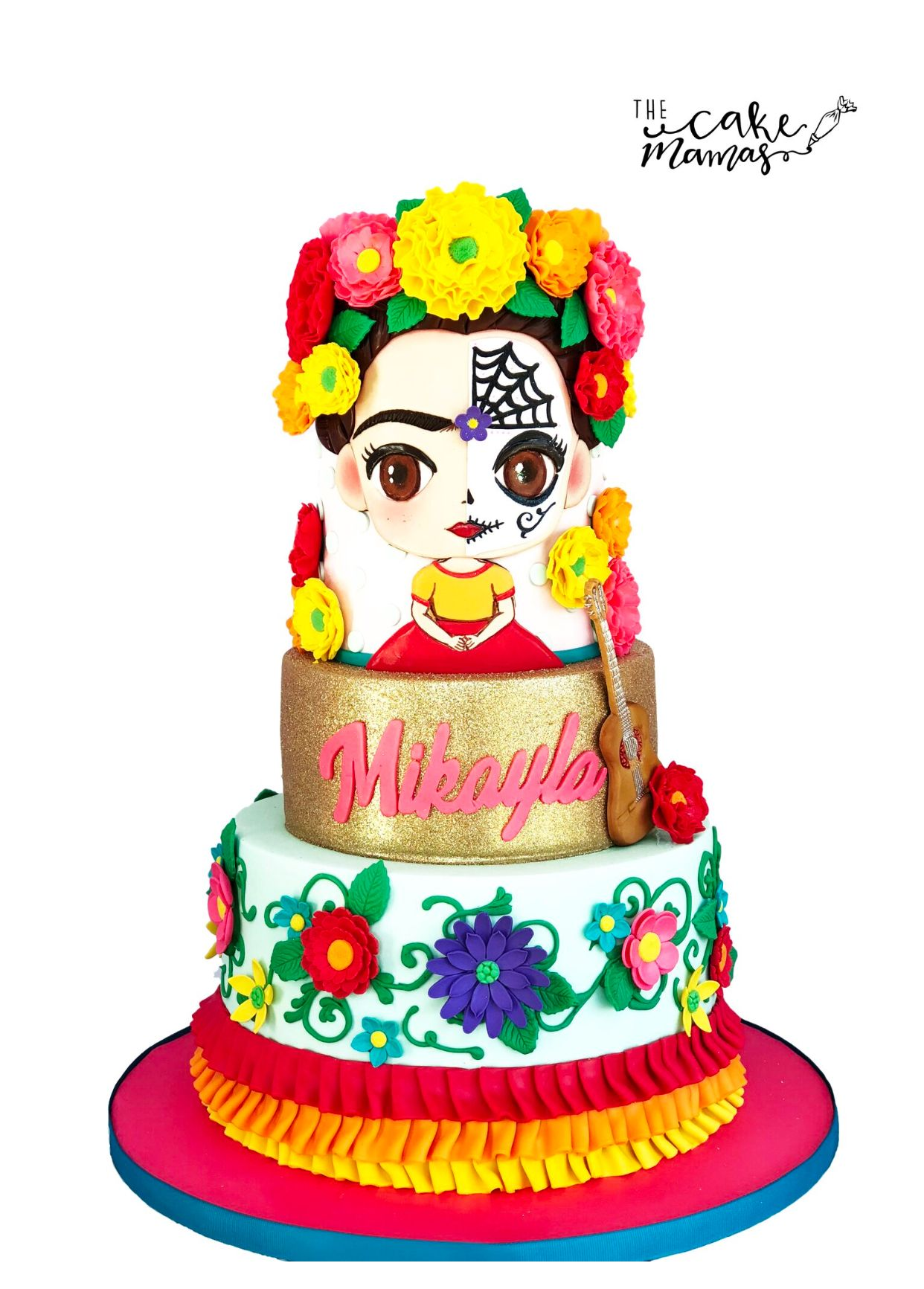 Day Of The Dead Birthday Cake Call Or Email To Place Your Cake
