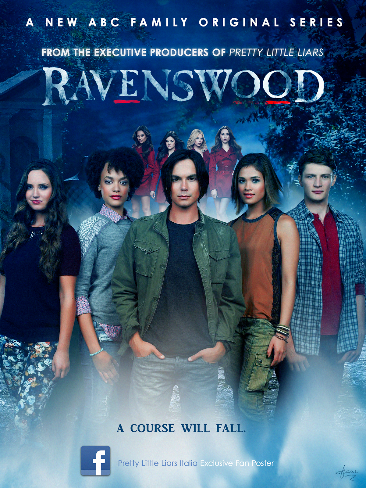Ravenswood Haha I Saw All The Episodes In 2 Days Pretty Little Liars Les Menteuses Films Droles