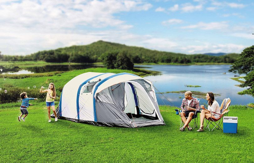 Aldi's New Camping Range A Hit with Campers and Festival