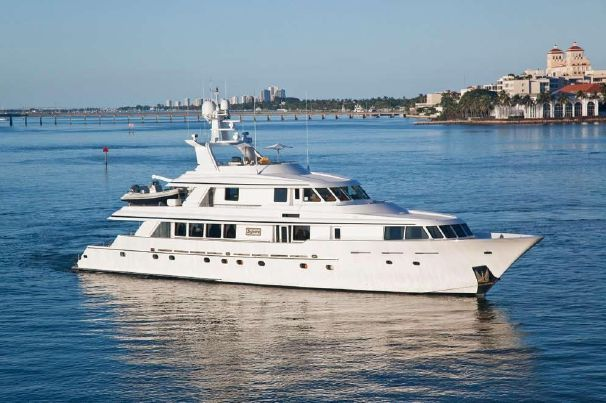 Gambol Industries Tri-Deck Motoryacht - http://boatsforsalex.com/gambol-industries-tri-deck-motoryacht/ -                                  US$ 5,900,000  Year: 1999Length: 130'Engine/Fuel Type: 3 enginesLocated In: Los Angeles, CAHull Material: FiberglassYW#: 22866-2700972Current Price: US$ 5,900,000  This yacht has been carefully engineered with state-of-the-art equipment ...