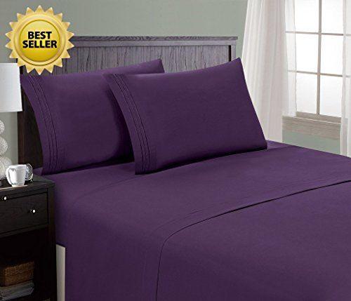 Comfortable Hc Ortment Mattress Sheet Pillowcase Set Hotel Luxury 1800 Collection Egyptian High Quality Bedding