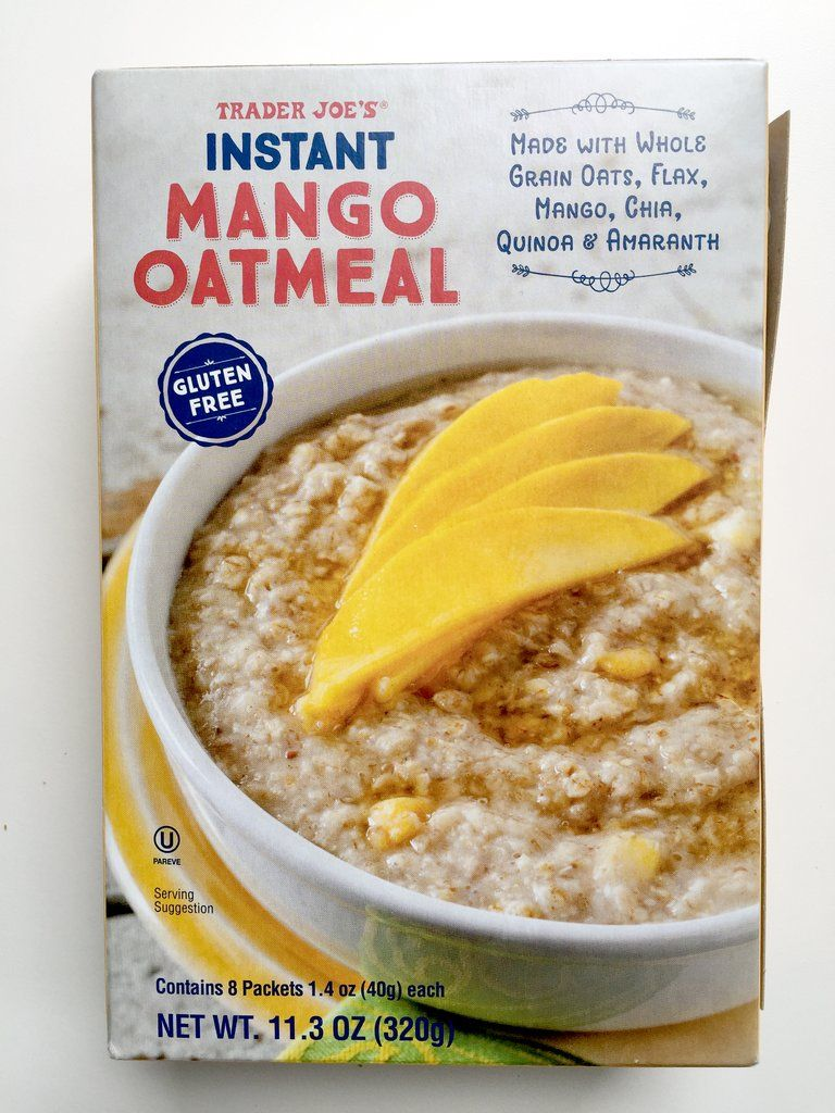 Pick Up: Instant Mango Oatmeal ($3)