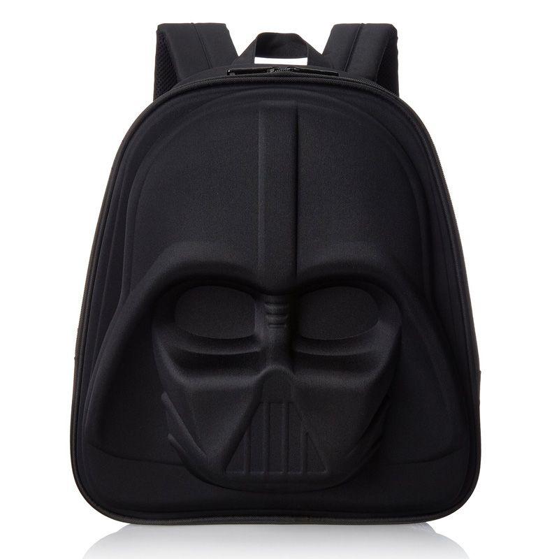 San Francisco a65ab fcd04 In bianco e nero dei bambini Scuola Zaino 3D di Star Wars ...