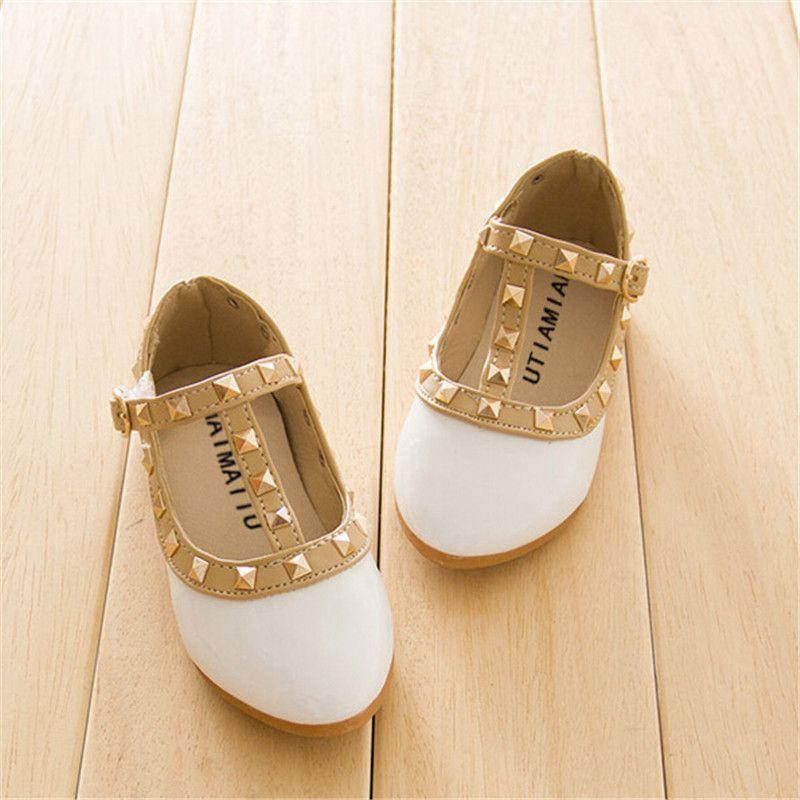 b56b64190b15c9 New Hot Rebites Sapatos Meninas Calçados Infantis Crianças Sapatilha ...