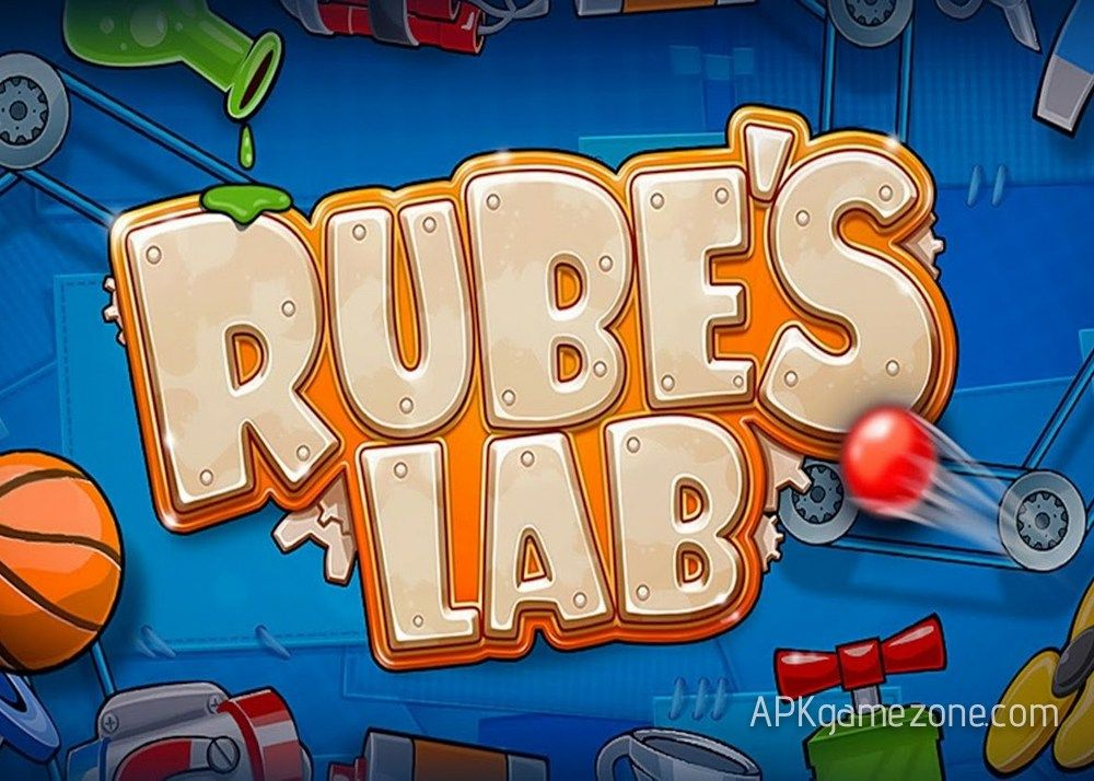 Rube's Lab Physics Puzzle Money Mod APK Game logo