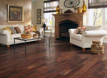 Old World Charm Harvest Hickory Handscraped Floors