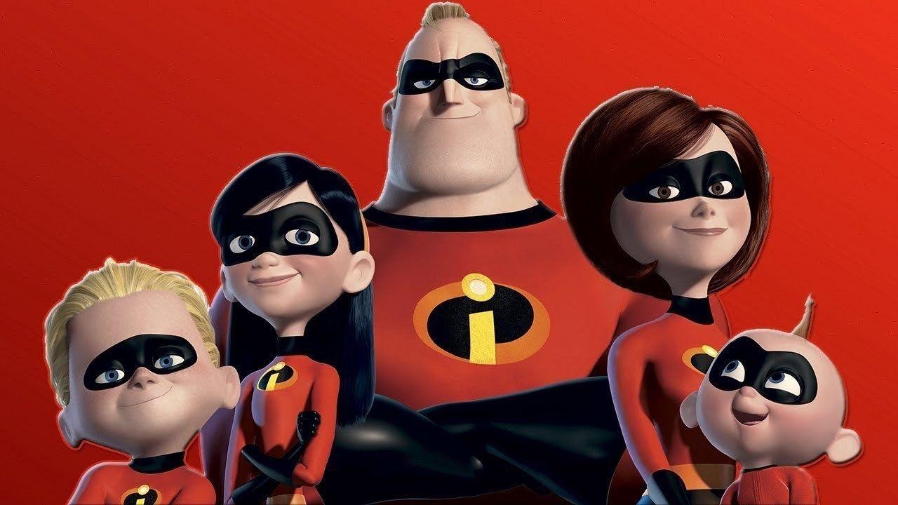 Los Increibles 2 The Incredibles Mickey Mouse Pixar