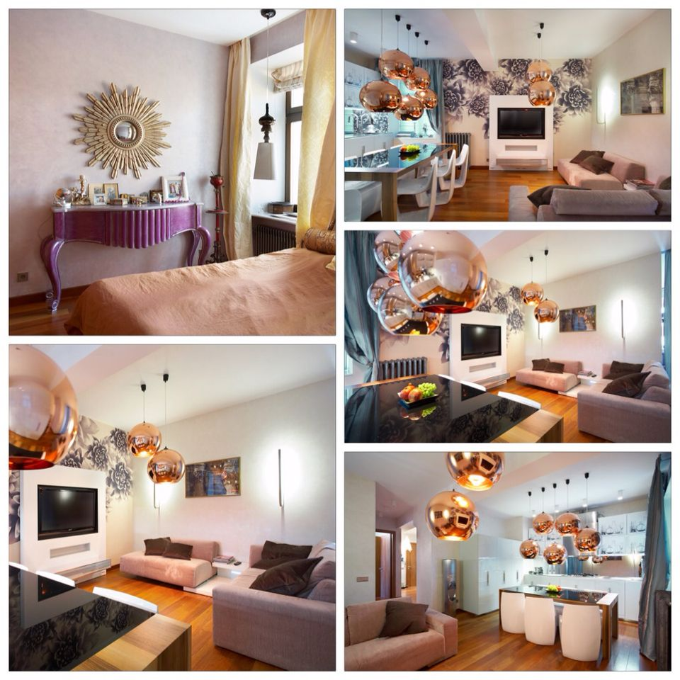 Author's Design 4-room Apartment Rental Situated In The