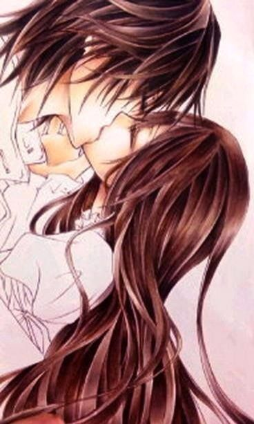Vampire Knight Kaname And Zero Kissing