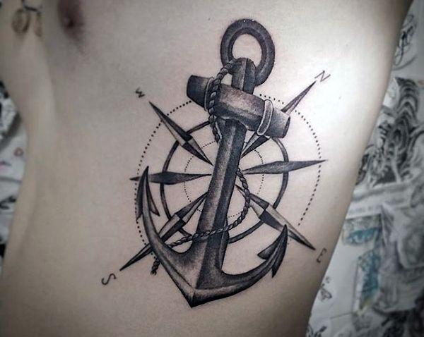 Top 43 Anchor Tattoo Ideas 2020 Inspiration Guide Tatuajes De Anclas Tatuajes Tatuajes Brujula