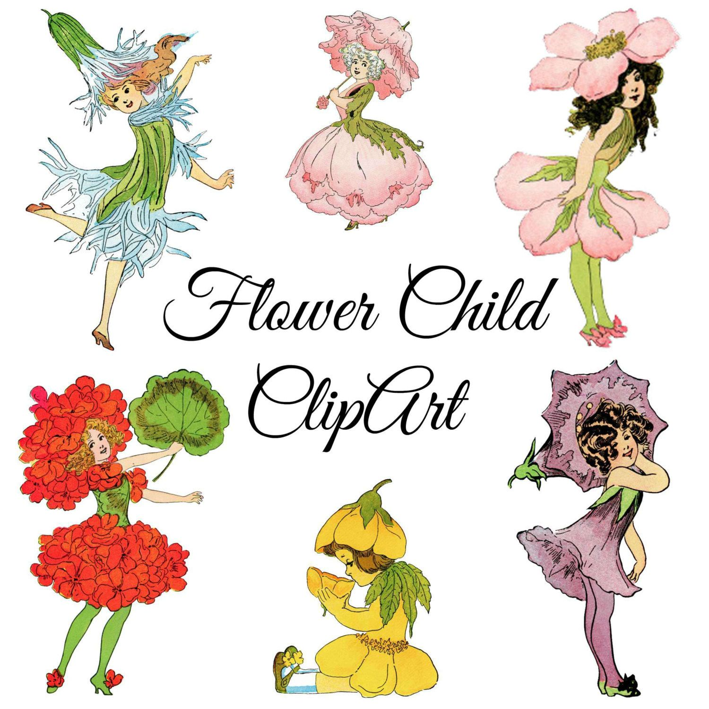 vintage flower child clipart vintage illustrations png clip art rh pinterest com downloadable clipart for cricut downloadable clip art for teachers