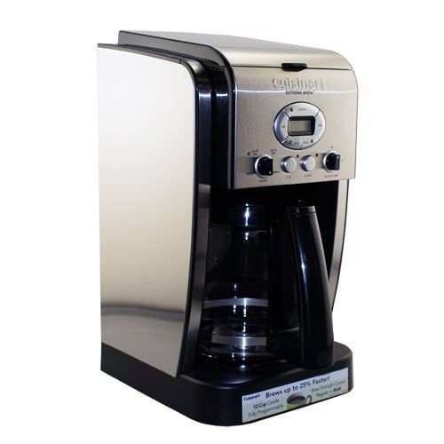 Cuisinart Dcc 2650 Brew Central 12 Cup Programmable Coffeemaker Extreme Brew New Coffee Maker Cuisinart Brewing