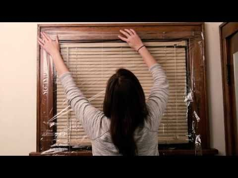 Putting Plastic Insulation On Your Windows Will Help Keep Your Home Warm And Cozy Through The Winter Window Insulation Winter Window Insulation Plastic Windows