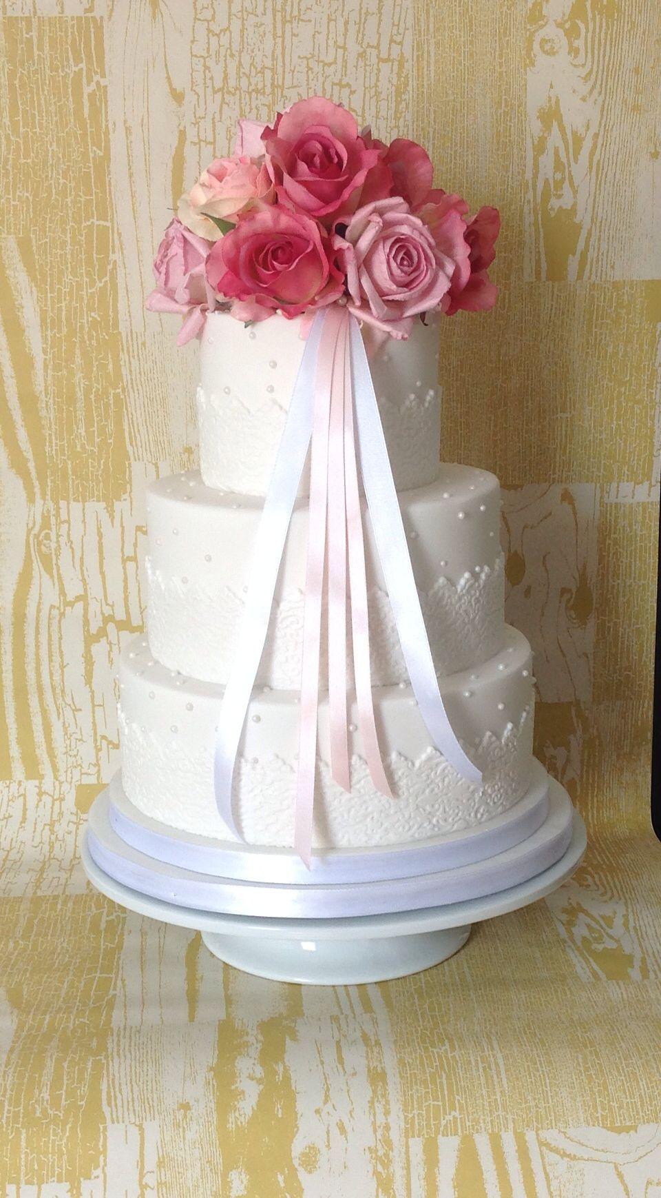 Simple Wedding Cake By Jemz Cake Box Jemz Cake Box Box Cake