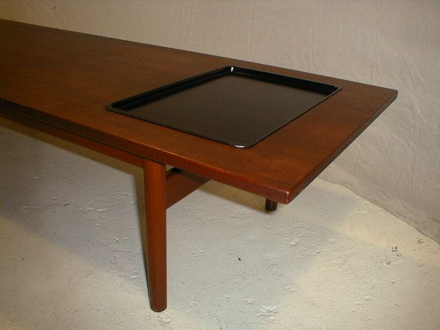 Tavolo modernariato ~ Tavolino nordico con vassoio spazio modernariato small