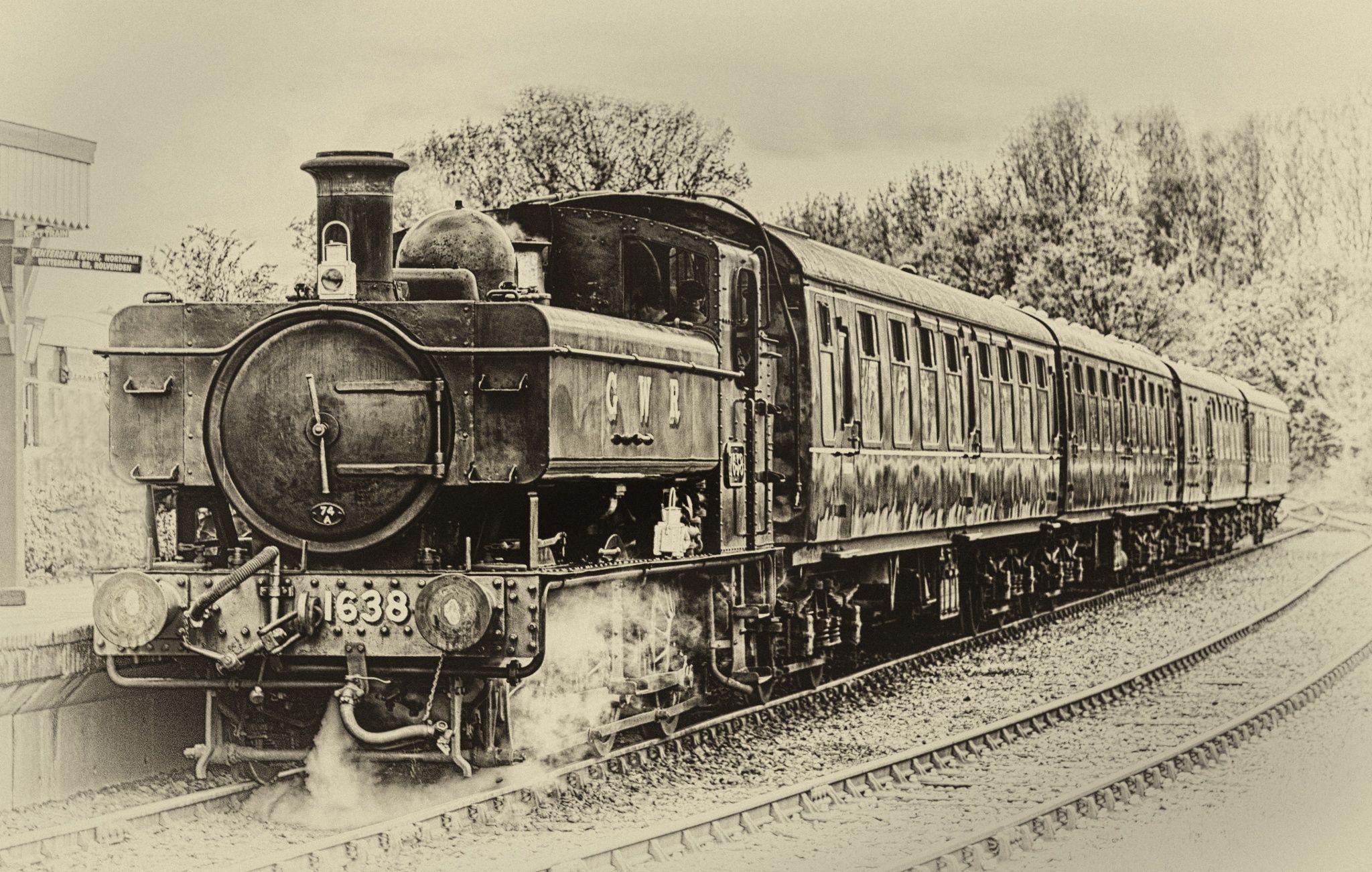 GWR 1638 by Nigel Jones on 500px