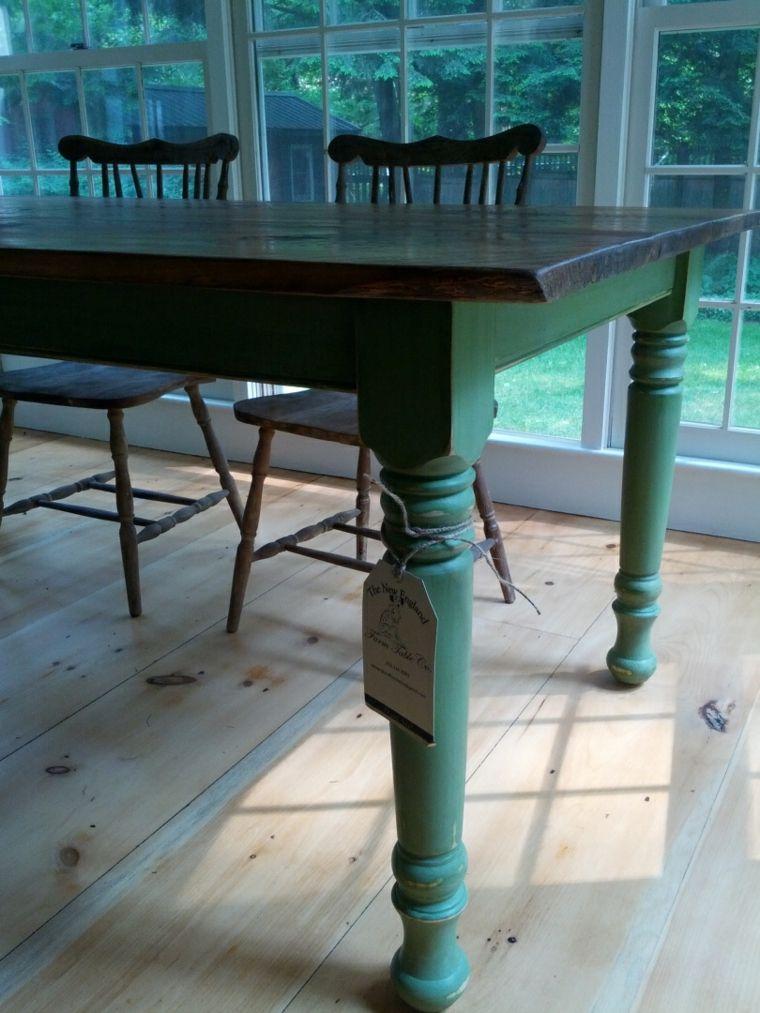 originales mesas de comedor vintage Mesas Pinterest Mesa de