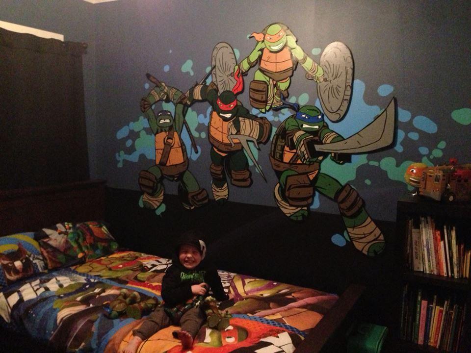 18 best images about Ninja Turtles Bedroom on Pinterest