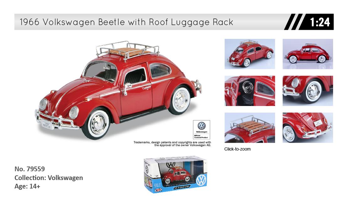 Motormax Volkswagen Beetle With Roof Luggage Rack Volkswagen Beetle Luggage Rack Volkswagen