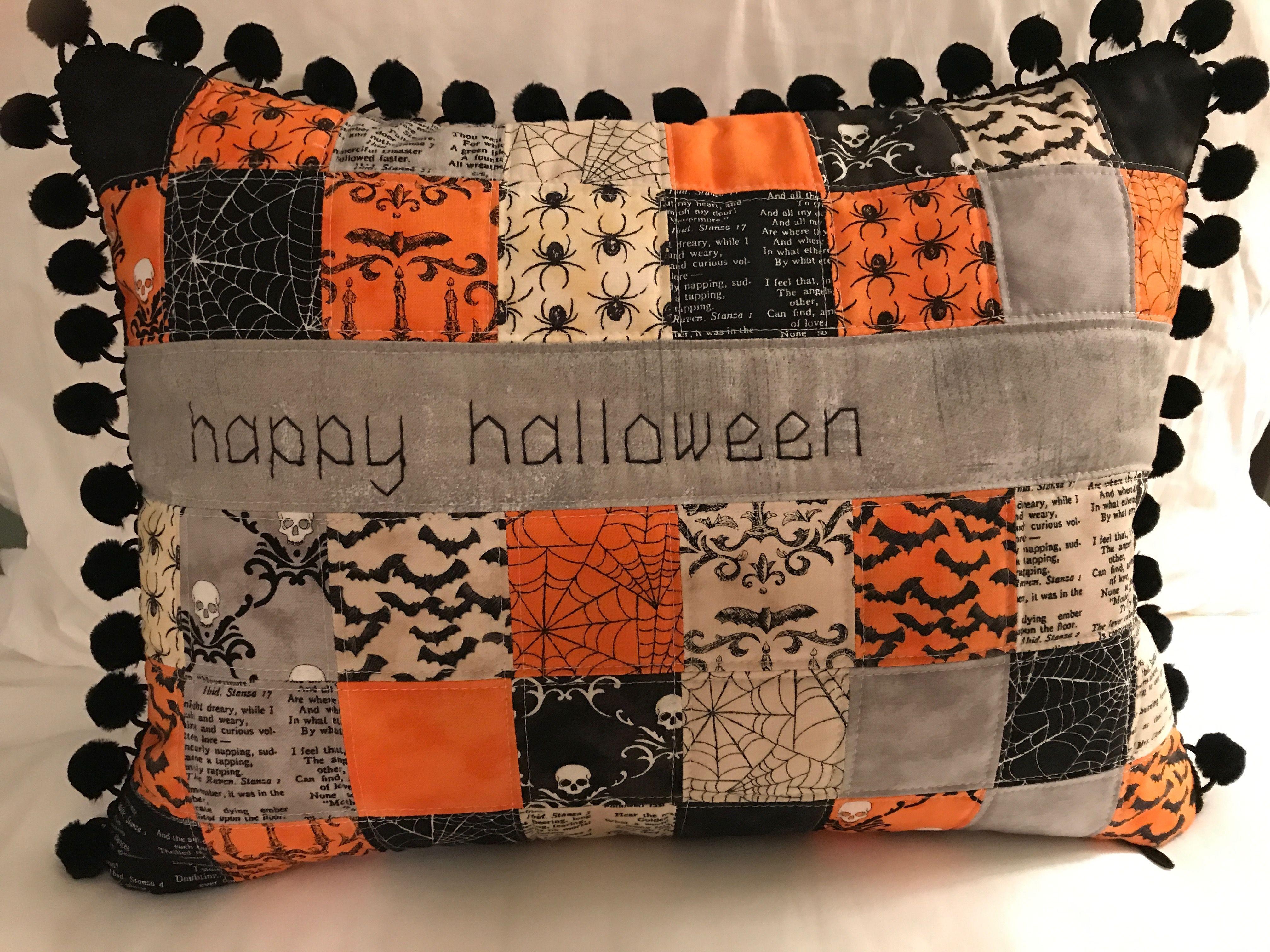 Kết quả hình ảnh cho Halloween Pillow Tutorial sewing