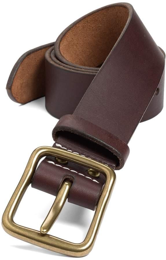 Men's Red Wing 'Pioneer' Belt, Size 32 Amber Brass | Mens