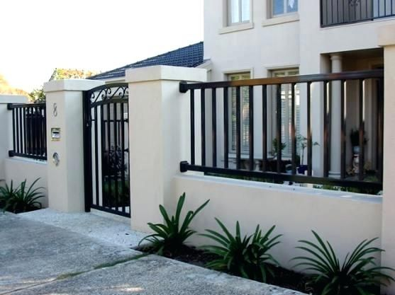 Modern fence design and gate house philippines also rh nl pinterest