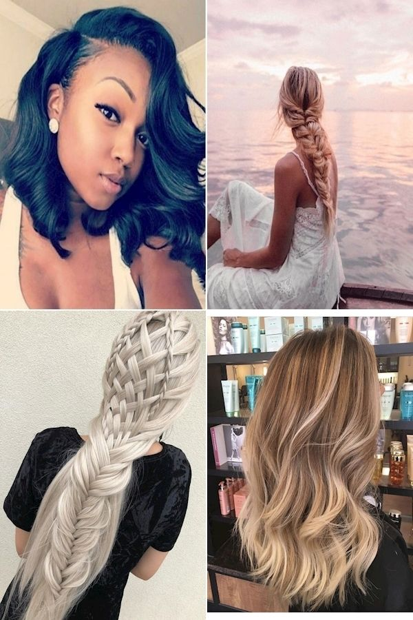 Hairstyles For Round Faces   Easy Updo Hairstyles For Medium Hair   Long Here   Long hair styles ...