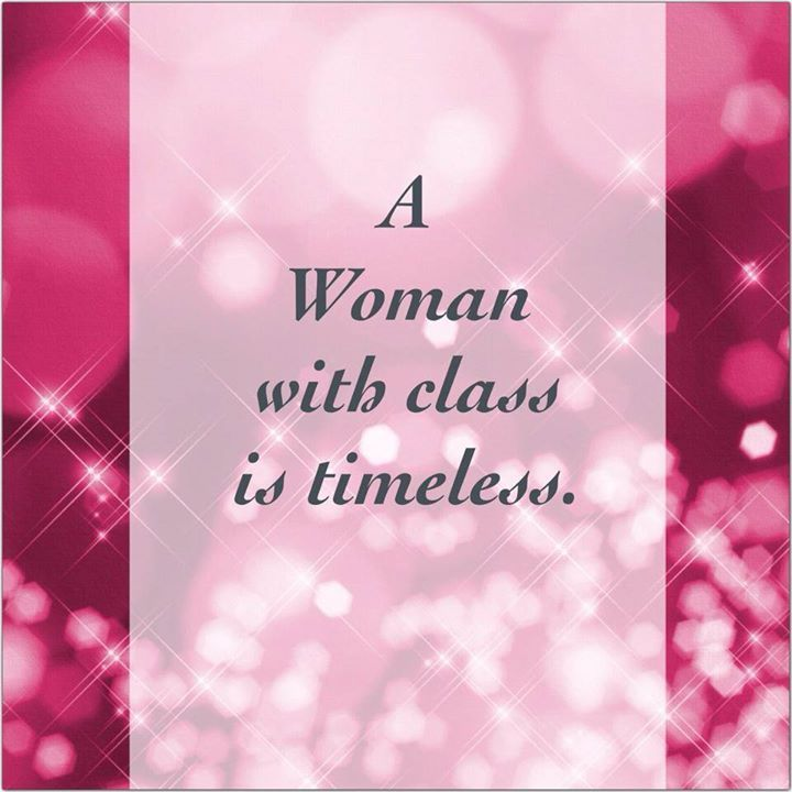 A woman with class is timeless / Una mujer con clase es eterna * Akuali.com