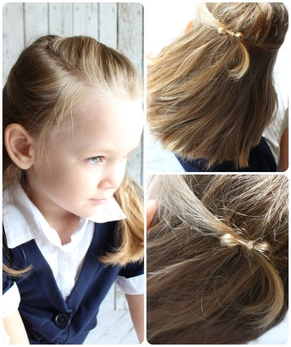 10 easy little girls hairstyles ideas you can do in 5