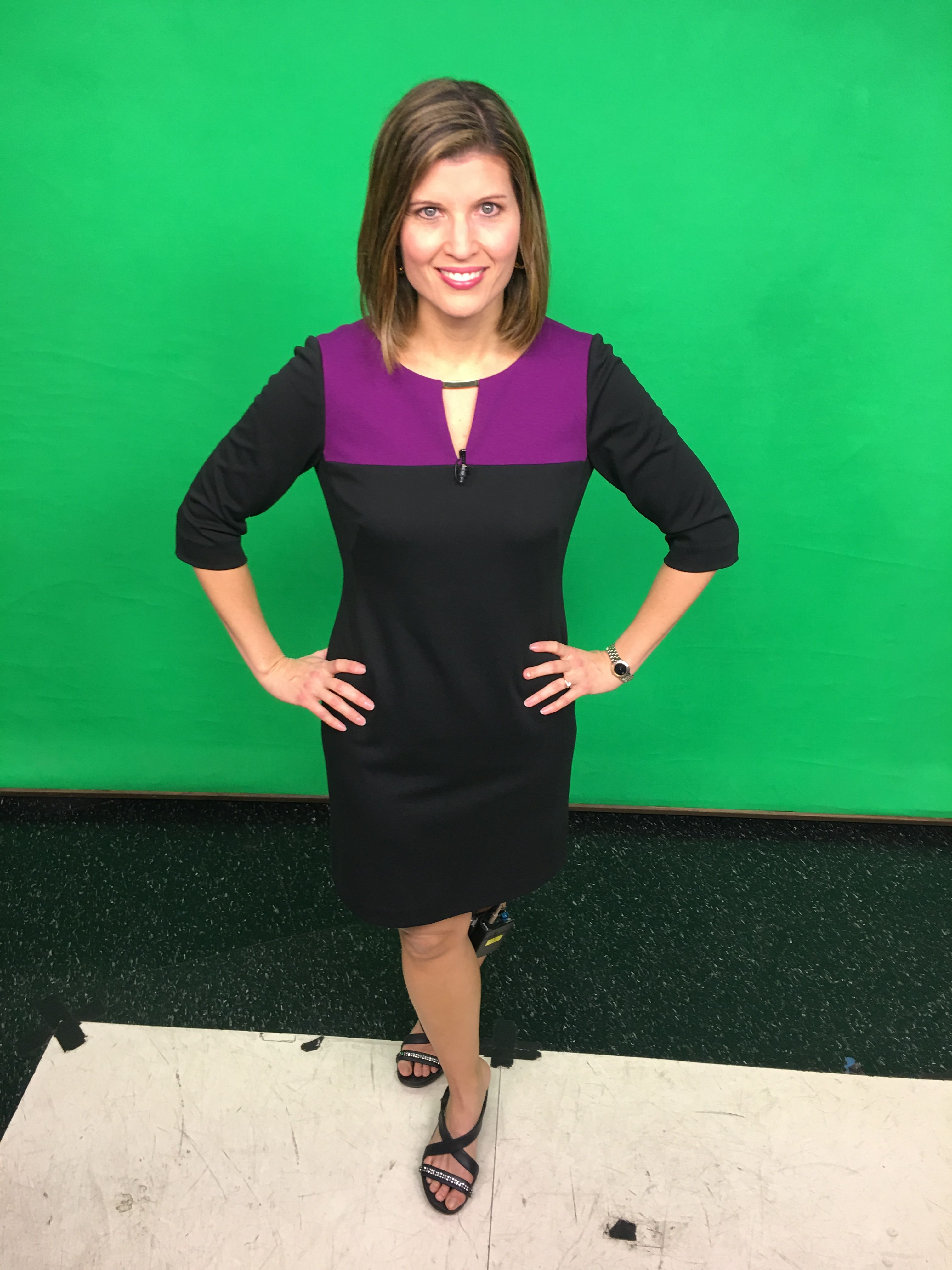 Ok ... after a long hiatus, #OOTD (outfit of the day) in #ChiksCloset is back! I love bargain shopping and found this dress at TJ Maxx last year. It's Tahari - one of my go-to favorite brands. #Jan23 #2017