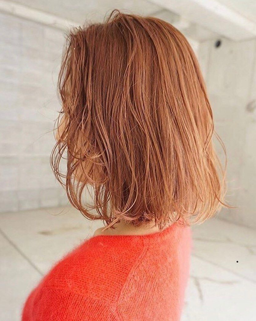 夏のorange Beige Hair Hairstyle Color Ash Beige Perm