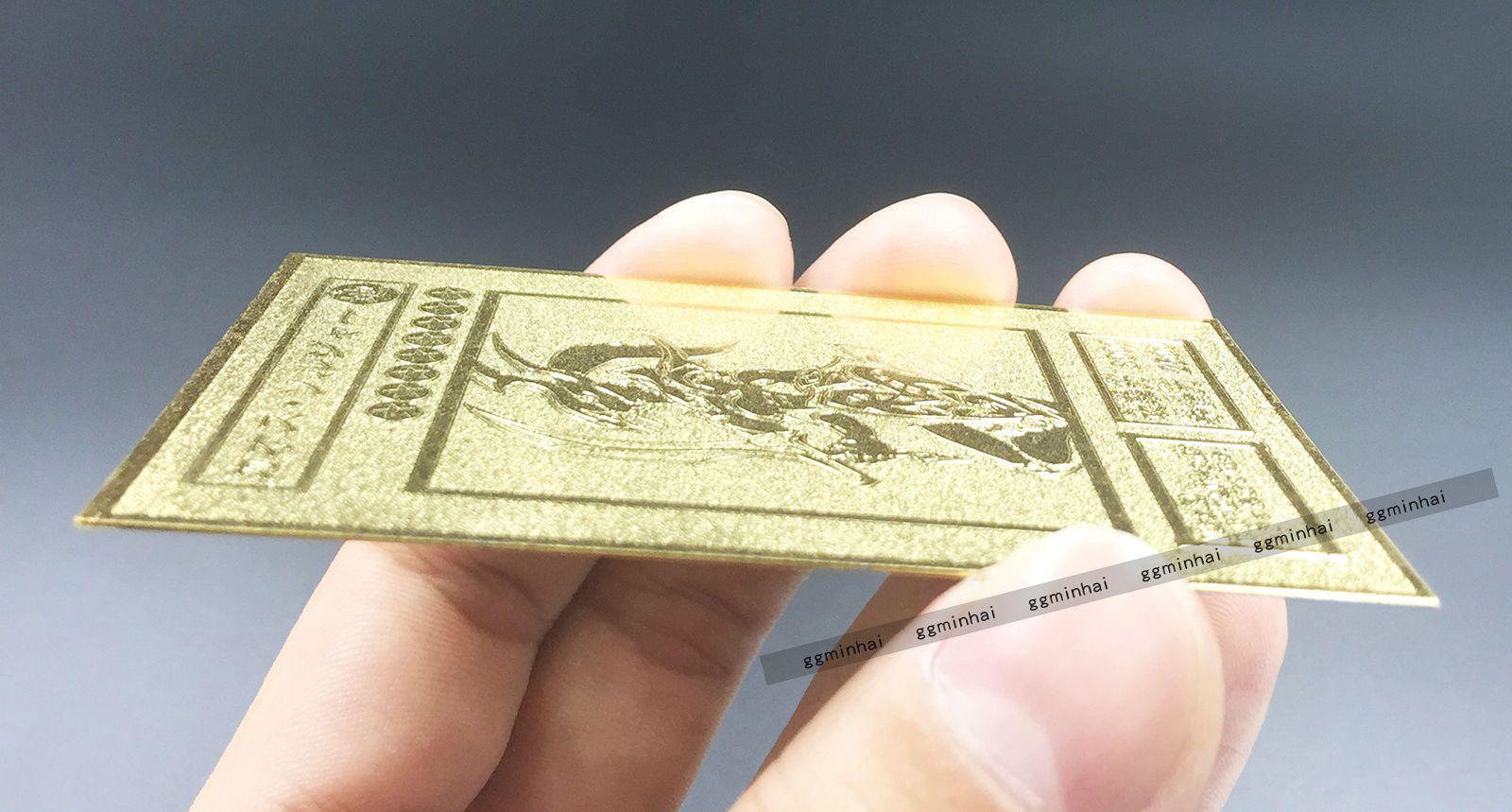 japanese version black luster soldier custom made yugioh golden