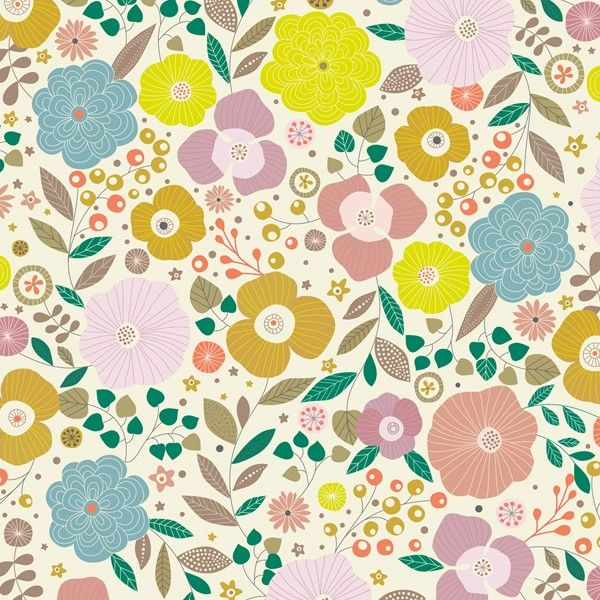 tissu flowers minilabo fabrics tissu decoration fabrics papier imprim et imprim s vintage. Black Bedroom Furniture Sets. Home Design Ideas