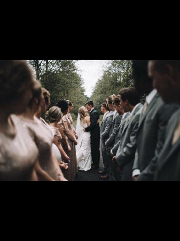 Antes de entrar en los buitres – fotos de la boda