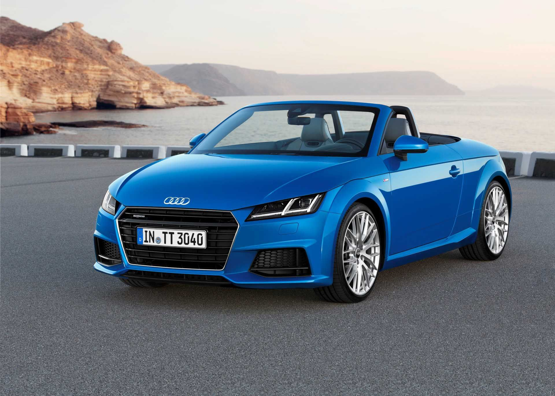 10 Beauty Audi TT Roadster Front Three Quarter View Wallpapers